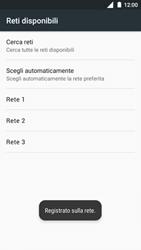 Nokia 3 - Rete - Selezione manuale della rete - Fase 11