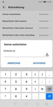Huawei Mate 10 Pro - Android Pie - Anrufe - Rufumleitungen setzen und löschen - Schritt 7