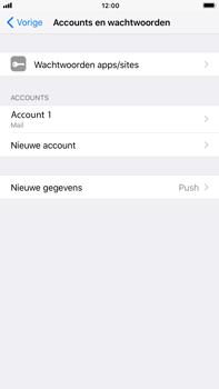 Apple iPhone 8 Plus - E-mail - Account instellen (IMAP met SMTP-verificatie) - Stap 16