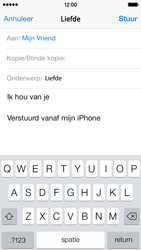 Apple iPhone 5 iOS 8 - E-mail - hoe te versturen - Stap 8