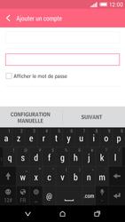 HTC Desire EYE - E-mail - Configuration manuelle - Étape 7