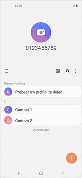 Samsung galaxy-xcover-pro-sm-g715fn - Contacten en data - Contacten kopiëren van toestel naar SIM - Stap 4