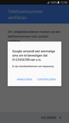 Samsung Samsung G920 Galaxy S6 (Android M) - Applicaties - Account instellen - Stap 9