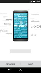 HTC One M8 - Primeros pasos - Activar el equipo - Paso 3