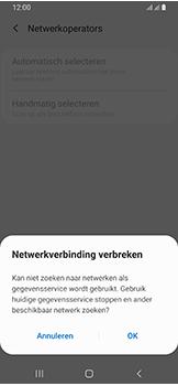 Samsung Galaxy A40 - Netwerk - Handmatig een netwerk selecteren - Stap 9