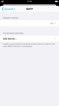 Apple iPhone 8 Plus - iOS 13 - E-mail - manual configuration - Step 20