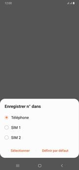 Samsung Galaxy A50 - Contact, Appels, SMS/MMS - Ajouter un contact - Étape 6