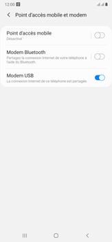 Samsung Galaxy Note20 Ultra 5G - Internet et connexion - Utiliser le mode modem par USB - Étape 9