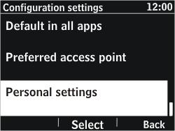 Nokia Asha 302 - MMS - Manual configuration - Step 5