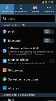 Samsung Galaxy Note III LTE - Internet e roaming dati - Disattivazione del roaming dati - Fase 4