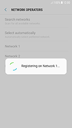 Samsung A320F Galaxy A3 (2017) - Android Oreo - Network - Manually select a network - Step 11