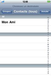 Apple iPhone 3G S - E-mail - envoyer un e-mail - Étape 6