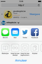 Apple iPhone 4 S iOS 7 - Internet - Internetten - Stap 13