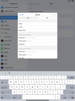 Apple iPad Pro 12.9 (2018) - ipados 13 - E-mail - configurazione manuale - Fase 12