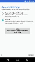 Sony Xperia X - E-Mail - Konto einrichten - 2 / 2