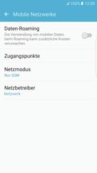 Samsung G925F Galaxy S6 edge - Android M - Netzwerk - Netzwerkeinstellungen ändern - Schritt 7