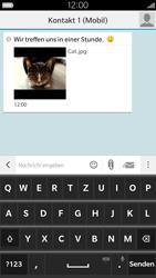 BlackBerry Leap - MMS - Erstellen und senden - 17 / 18