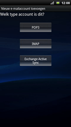 Sony Xperia Arc - E-mail - Handmatig instellen - Stap 6