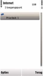 Nokia 5230 - internet - handmatig instellen - stap 13