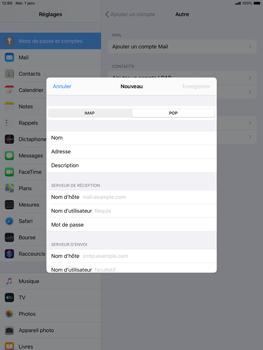 Apple ipad-10-2-7th-gen - E-mail - configuration manuelle - Étape 11