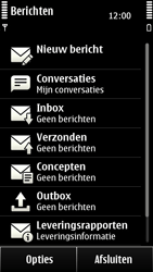 Nokia 500 - SMS - handmatig instellen - Stap 4