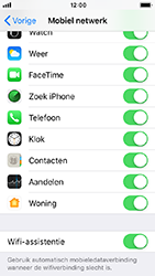 Apple iphone-5s-ios-12 - WiFi - WiFi Assistentie uitzetten - Stap 5