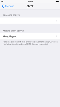 Apple iPhone 7 Plus - E-Mail - Konto einrichten - 22 / 30