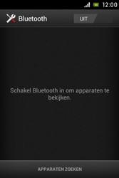 Sony ST23i Xperia Miro - bluetooth - headset, carkit verbinding - stap 5