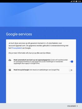 Samsung Galaxy Tab S2 9.7 - Android Nougat - Applicaties - Account aanmaken - Stap 17