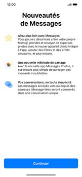 Apple iPhone XR - Contact, Appels, SMS/MMS - Envoyer un MMS - Étape 3