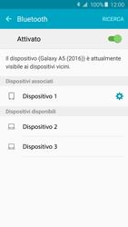 Samsung Galaxy A5 (2016) (A510F) - Bluetooth - Collegamento dei dispositivi - Fase 8