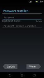 Sony Xperia T - Apps - Einrichten des App Stores - Schritt 8