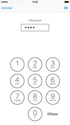 Apple iPhone 6s - Sécuriser votre mobile - Personnaliser le code PIN de votre carte SIM - Étape 7