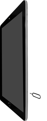 Apple iPad Pro 9.7 inch - SIM-Karte - Einlegen - Schritt 2