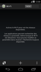 Acer Liquid E600 - Wifi - configuration manuelle - Étape 4