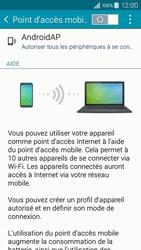 Samsung Galaxy A3 (A300FU) - Internet et connexion - Partager votre connexion en Wi-Fi - Étape 10