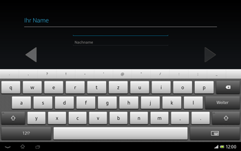 Sony Xperia Tablet Z LTE - Apps - Einrichten des App Stores - Schritt 6