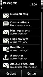 Nokia 500 - SMS - configuration manuelle - Étape 4