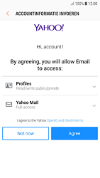 Samsung galaxy-s7-android-oreo - E-mail - 032b. Email wizard - Yahoo - Stap 10