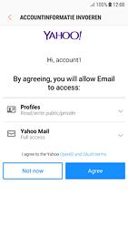 Samsung Galaxy S7 - Android Oreo - E-mail - handmatig instellen (yahoo) - Stap 9