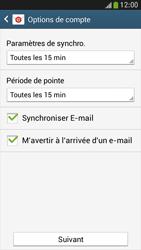 Samsung Galaxy S 4 Mini LTE - E-mail - configuration manuelle - Étape 15