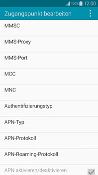 Samsung Galaxy Note 4 - MMS - Manuelle Konfiguration - 13 / 20