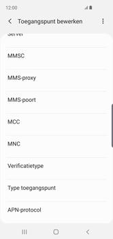 Samsung Galaxy S10e - MMS - handmatig instellen - Stap 11