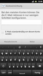 Sony Xperia S - E-Mail - Manuelle Konfiguration - Schritt 6