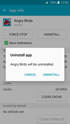 Samsung Galaxy S6 Edge - Applications - How to uninstall an app - Step 8