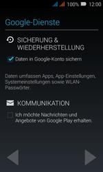 Huawei Y3 - Apps - Konto anlegen und einrichten - Schritt 12
