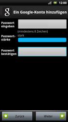 Sony Ericsson Xperia X10 - Apps - Konto anlegen und einrichten - Schritt 10