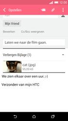 HTC Desire EYE - E-mail - E-mails verzenden - Stap 16