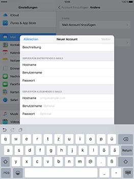 Apple iPad Mini 4 - E-Mail - Konto einrichten - 13 / 32