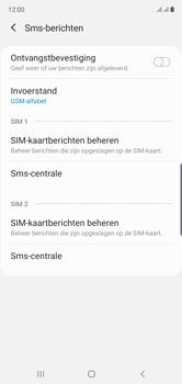 Samsung Galaxy Note 10 - sms - handmatig instellen - stap 8